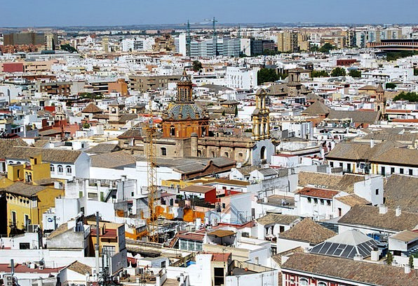 Seville Buildings Urban Architecture Houses Househ