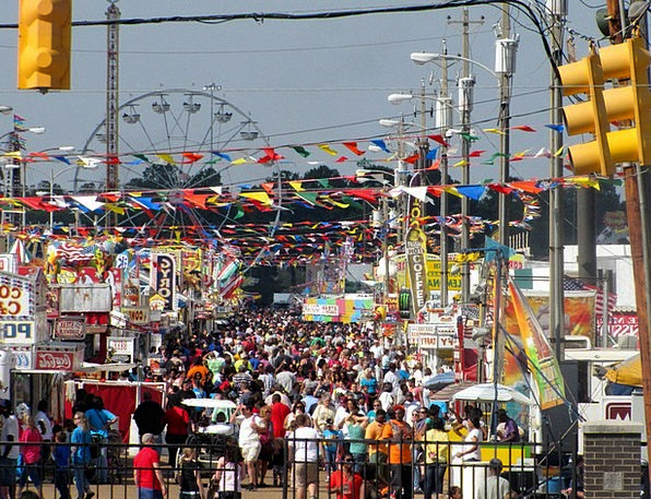 Fairground Reasonable State National Fair Rides Ca