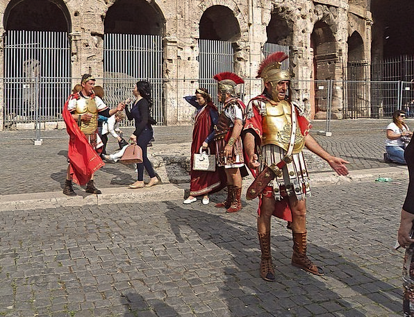 The Legionnaires Protectors Ice Frost Guards Rome