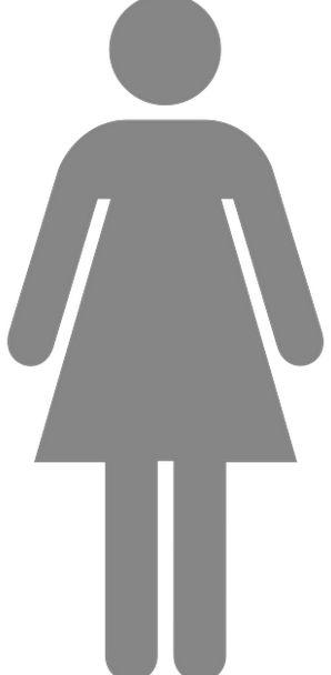 Woman Lady Fashion Sign Beauty Toilette Toilet Pic
