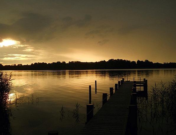 Chiemsee Vacation Sundown Travel Abendstimmung Sun