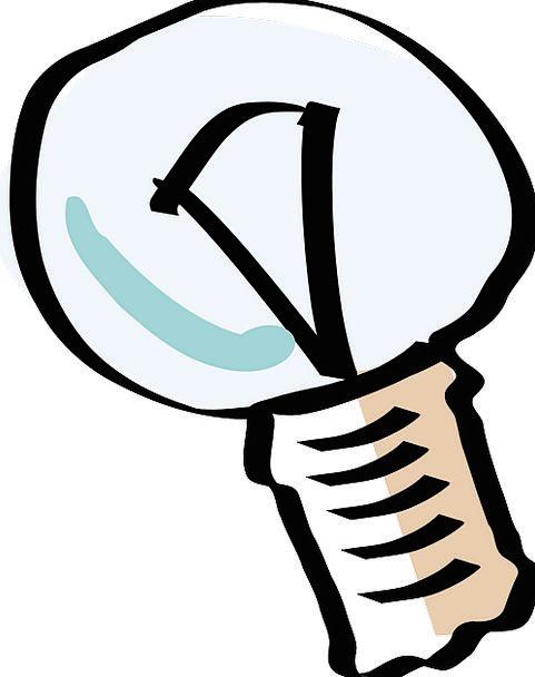 Lightbulb Corm Light Bulb Glowing Lighting Illumin