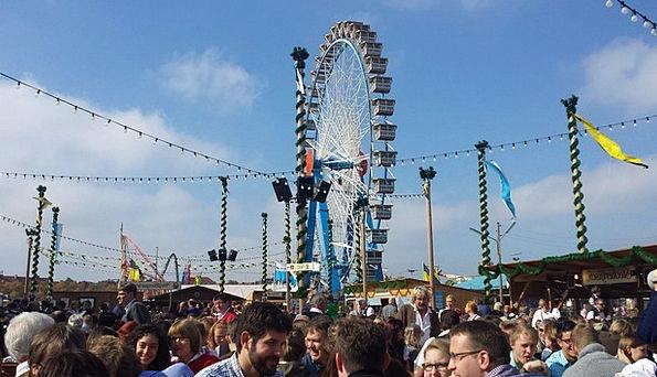 Oktoberfest Ferris Wheel Munich Oide Wiesn Oktober
