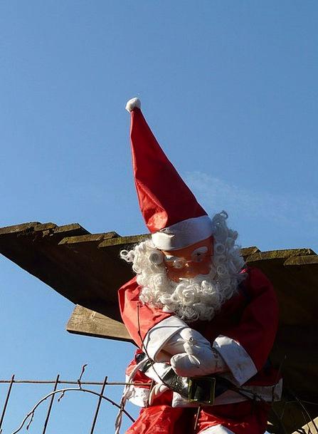 Weihnachtsmaenn Christmas Ziipfelmuetze Doll Toy B