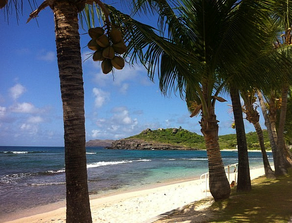 St Barts Vacation Travel Island Isle Shell Beach W