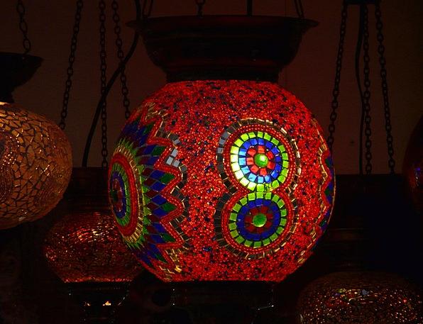 Windlight Bright Lamp Uplighter Light Red Bloodsho