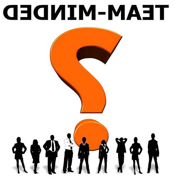 Team Spirit Unity Side Question Mark Doubt Team Pe