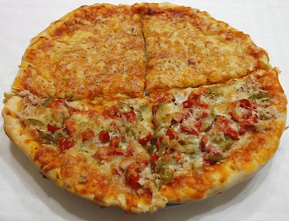 Pizza Telepizza Fast Food Italian Food