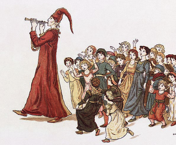 Sage Wise Drawing Sketch The Pied Piper Of Hamelin