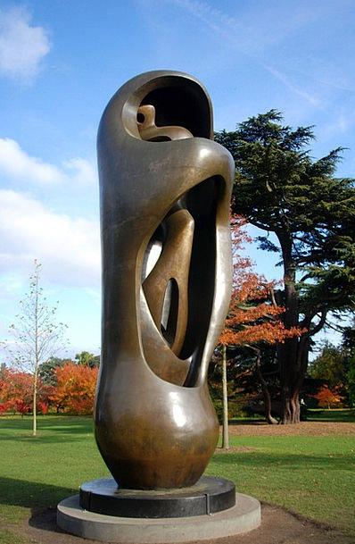 Sculpture Statue Figurine Modern Art Bronze Metal
