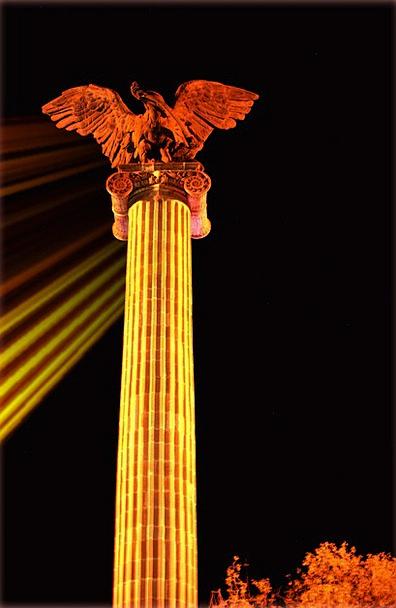 Plaza Piazza Exedra Eagle Aguascalientes Column Ni