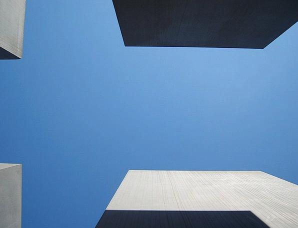 Holocaust Memorial Stones Gravels Berlin Memorial