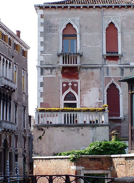 Venice Buildings Architecture Palazzo Italy Withou
