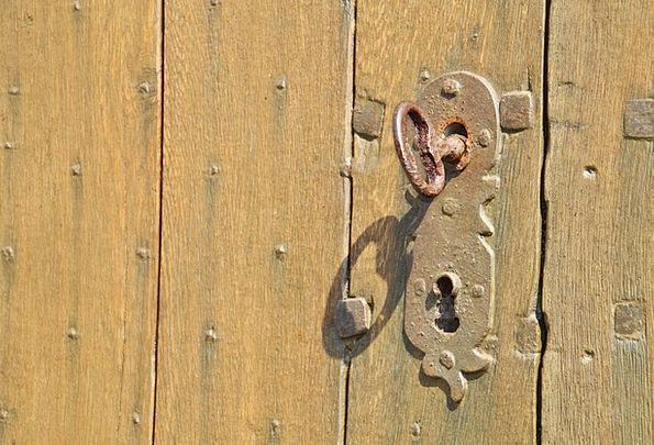 Door Lock Important Castle Fortress Key Door Hardw