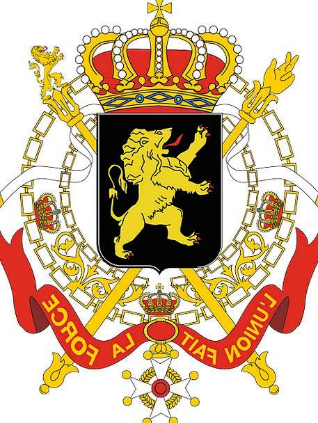 Belgium Crest Government Administration Coat Of Ar
