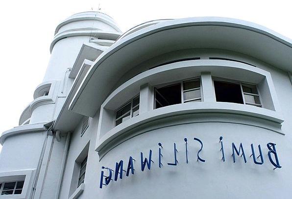 Indonesia Heritage Building Vila Isola Bandung Art