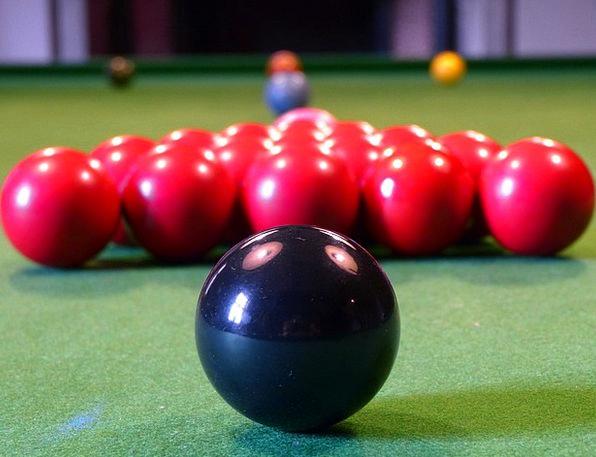 Billiards Spheres Black Dark Balls Play Production
