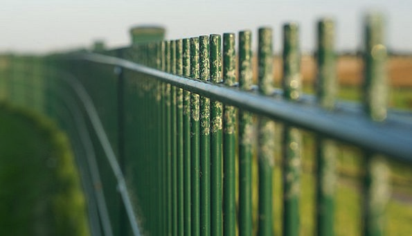 Fence Lime Endless Boundless Green Barrier Grid Bo