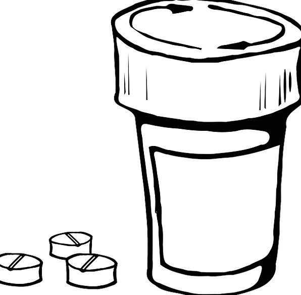 Bottle Flask Capsule Container Ampule Pill Capsule