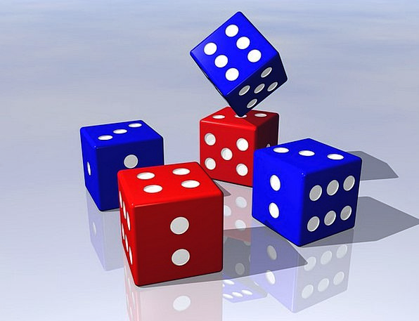 Dice Cube Betting Game Willing Gaming Luck Fluke F