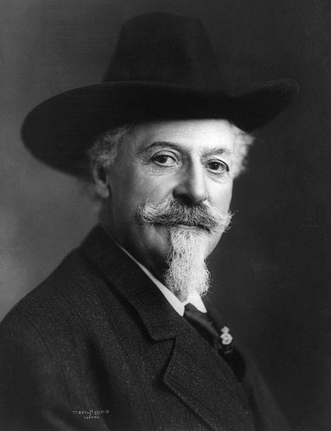 Buffalo Bill Gentleman 1911 Man William F Cody Mou