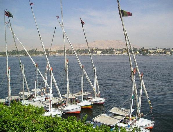 Egypt Felucca Nile Boats Ships Luxor