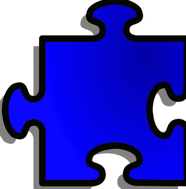 Jigsaw Form Piece Shape Game Willing Join Puzzle B