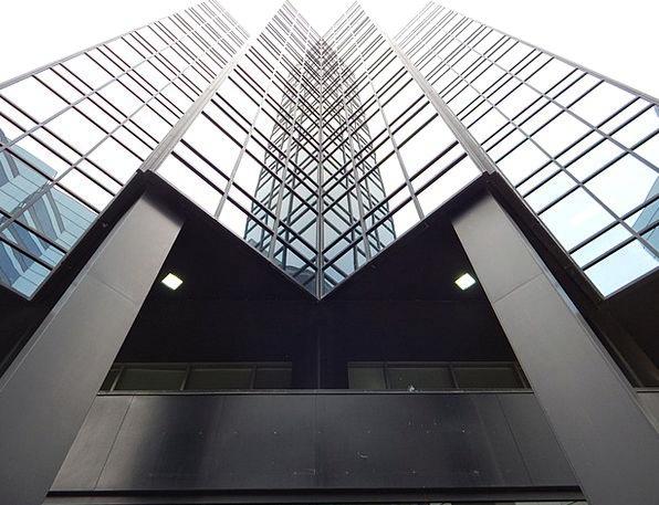 Building Structure Buildings Gaps Architecture Gla