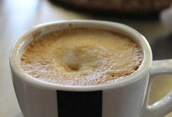 Café Au Lait Chocolate Cup Mug Coffee Foam Froth H