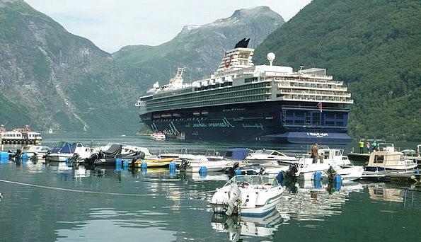 Cruise Voyage Vessel Norway Ship Geirangerfjord