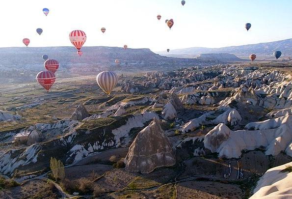 Hot Air Balloon Vacation Inflatable Travel Turkey