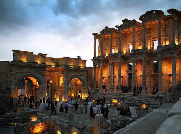 Turkey Monuments Blue Places Clouds Vapors Sky His