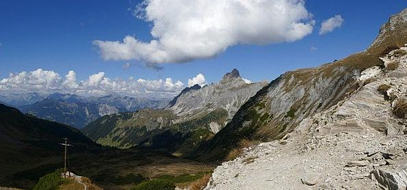 Mountain Panorama Landscapes Nature Mountains Crag