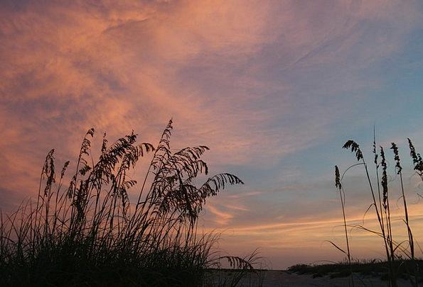 Sunset Sundown Vacation Seashore Travel Nature Cou