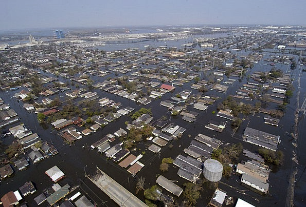 New Orleans Buildings Architecture After Hurricane