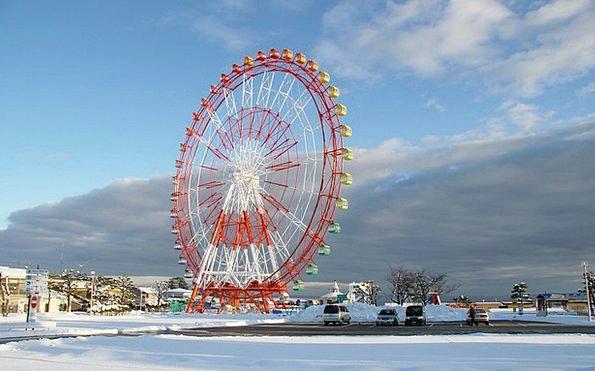 Ouzu Sky Blue Japan Vehicles Clouds Vapors Winter