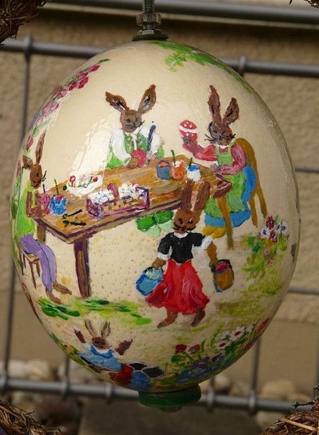 Easter Egg Paint Dye Easter Easter Bunny Easter Eg