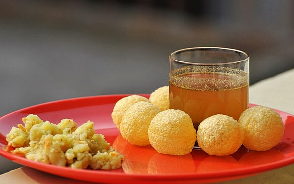 Panipuri Drink Food Indian Food Gupchup Yummy Golg