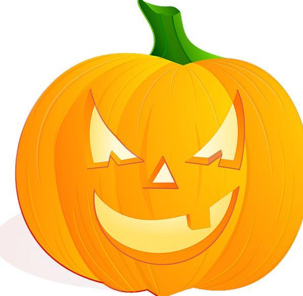 Pumpkin Drink Food Face Jack-O'-Lantern Orange Hal
