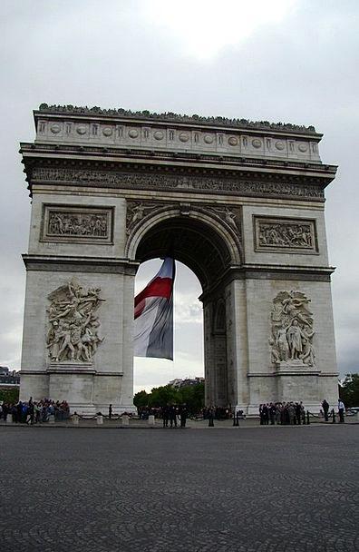 The Arc De Triomphe Buildings Architecture France