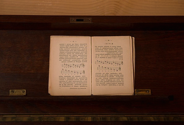 Book Volume Anthology Music Melody Songbook Old An