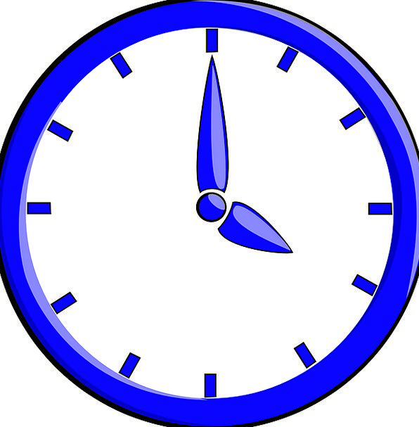 Clock Timepiece Period Eight Time Free Vector Grap