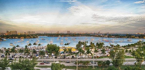 Miami Buildings Urban Architecture Maritime Nautic