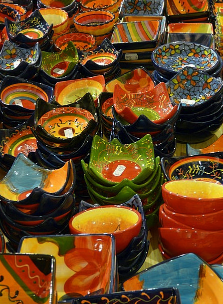 Pottery Earthenware Art Ceramic Colorful Interesti