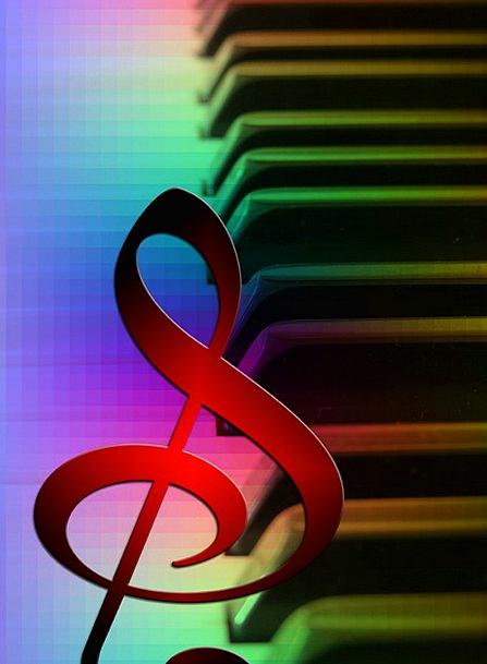 Music Melody Audibility Piano Acoustics Keyboard C