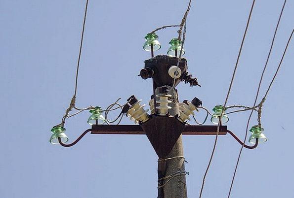 Post Pole Cable Insulators Paddings Wire Electrici