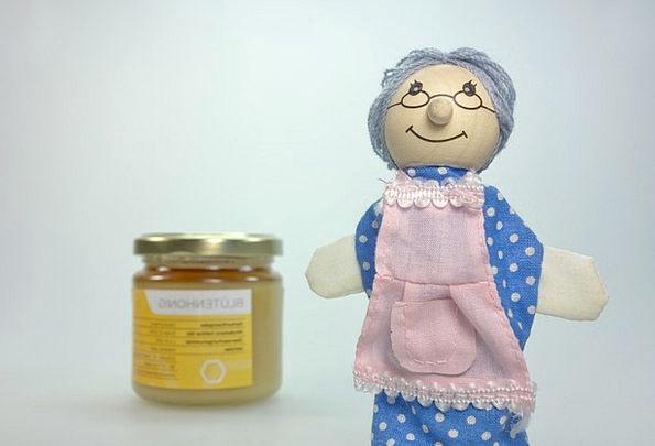 Doll Toy Drink Grandmother Food Children Toys Gran