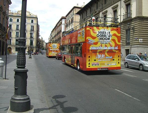 Madrid City Centre Tourist Bus