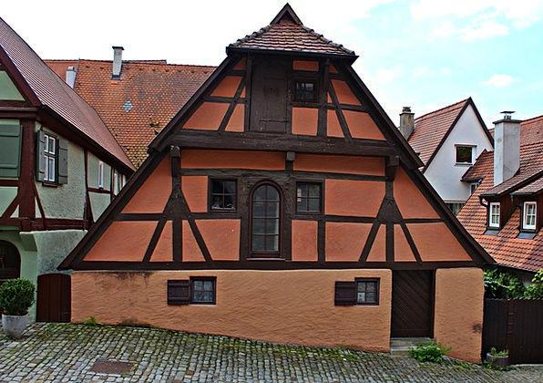 Fachwerkhaus Historically Factually Old Town House