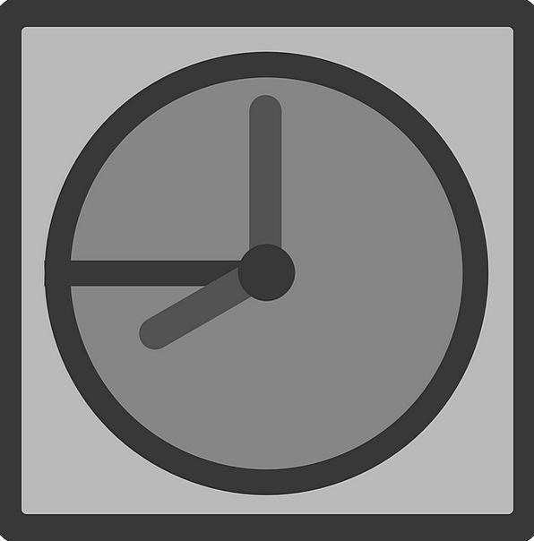 File Folder Timepiece Temporary Provisional Clock